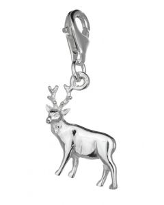 Sterling SIlver Deer Clip On Charm