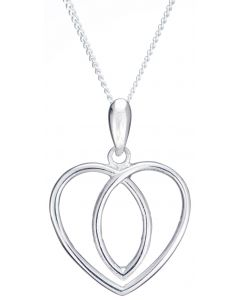 North Coast 500 Celtic Heart Souvenir necklace
