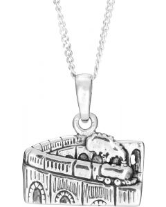 Glenfinnan Viaduct  Silver Necklace