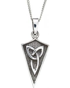 Sterling Silver Celtic Trinity Knot Necklace