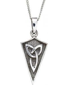 Sterling Silver Celtic Trinity Knot Necklace