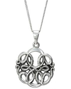 Silver Path of Life Necklace