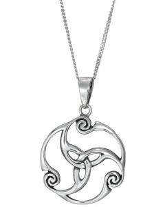 Celtic Eternal Knotwork Necklace