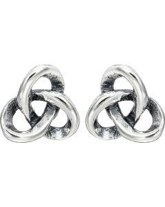 Sterling Silver Trinty Knot Earrings