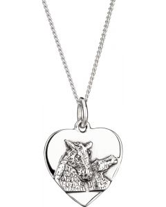 The Kelpies Heart Necklace