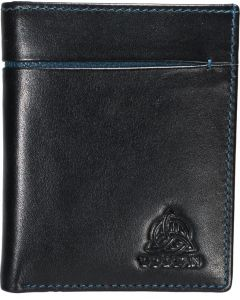 Genuine Leather Trifold 9 slot  RFID Wallet