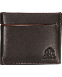 Genuine Leather ten slot  Mens RFID Wallet