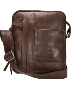 Genuine Leather Multi pocket Messenger Bag