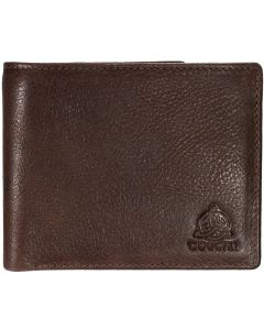 Genuine Distressed Leather Mens RFID 8 slot Wallet