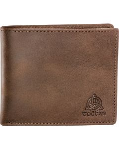 Five slot RFID gents brown wallet