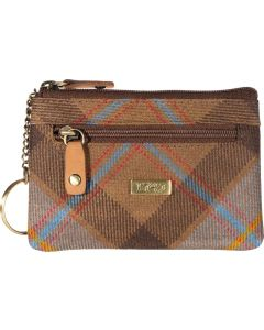 Outlander Inspired 1743 Dragonfly Tartan coin/ Card purse with RFID