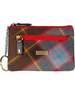 Outlander inspired 1743 Unicorn Tartan coin/key/Card purse