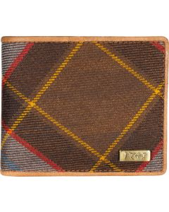 Outlander Inspired 1743 Leather Gents Tartan RFID Wallet
