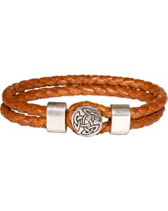 Leatherette two strand Celtic Bracelet