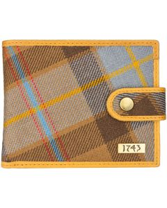 Outlander inspired 1743 Leather Gents Tartan  Wallet