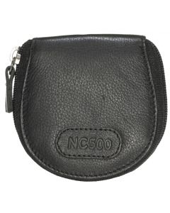 NC500 Genuine Leather coin purse with zip