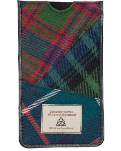 Quirky Tartan medium aye phone 7  holder