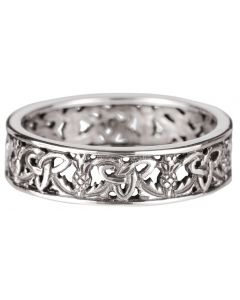 Sterling Silver Scottish Love Ring 1743