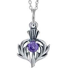 Perfect in Purple: Thistle Jewellery